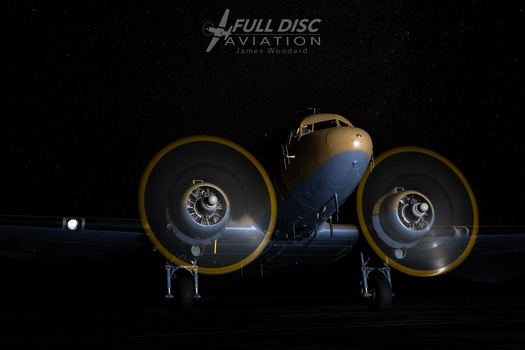 C47 Under the stars by James Woodard
