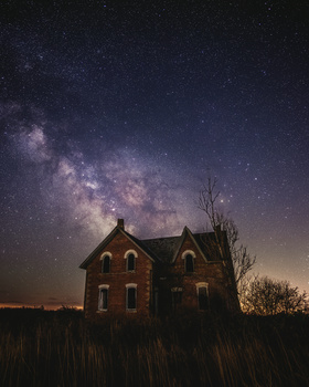 Abandoned Under The Stars by GARY CUMMINS