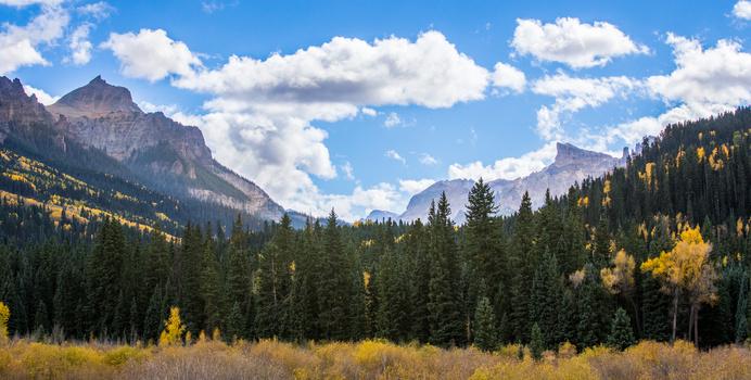 Valley in Owl Creek Pass