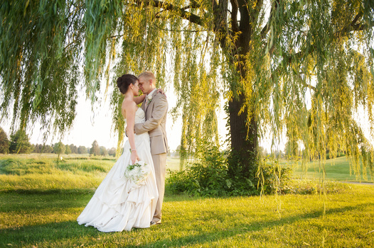 Willow Tree Bride & Groom