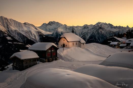 Swiss Church by Fabrice Petruzzi