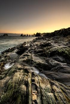 Playa and stacks by Fabrice Petruzzi
