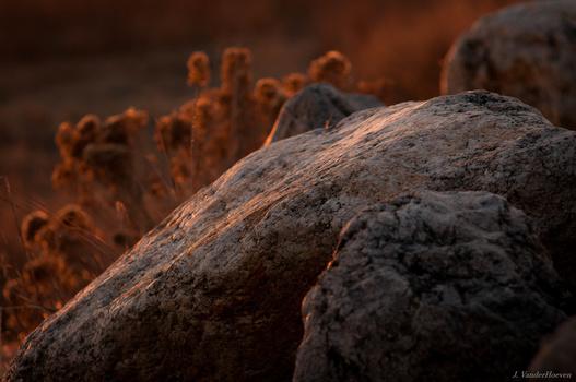 Last Light on Granite by Jake VanderHoeven