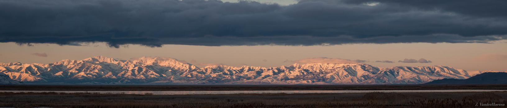 Morning Panorama by Jake VanderHoeven