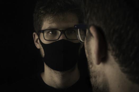 Quarantine Self Portrait by Michael Quelch