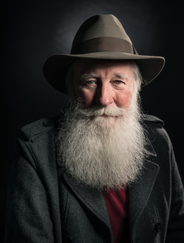 Keith Thomas Portrait by Michael Quelch