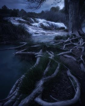 Lagunas de Ruidera by Jacin Fernández