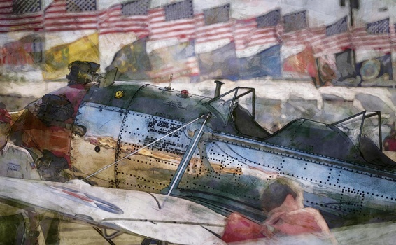 Painting America in the Air by Mark Mathews