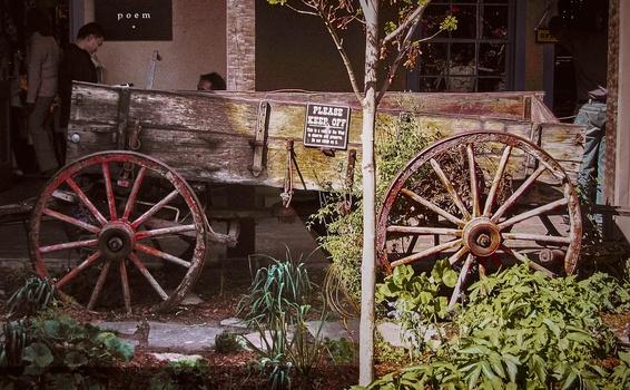 Wagon Split by Mark Mathews