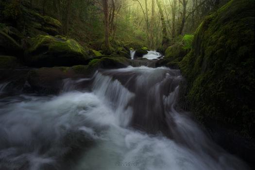 Unknown river in asturias by David Garcia