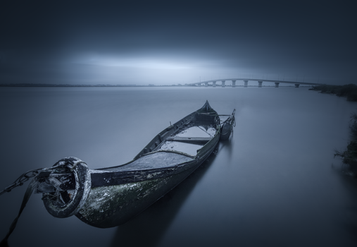 A Dark Postcard From Varela Bridge by Tiago Marques