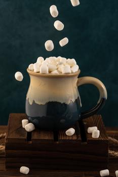 Hot chocolate by Skyler Ewing