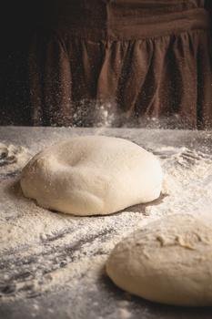Making bread by Skyler Ewing