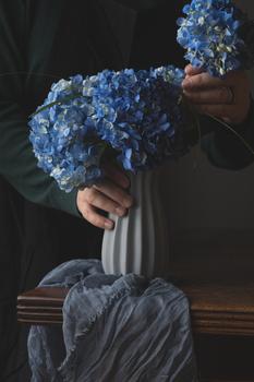 Flower arrangement by Skyler Ewing