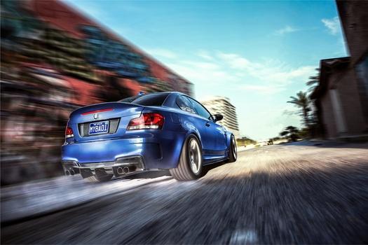 BMW 135i Rolling Shot