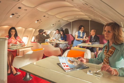 Pan Am First Class Lounge
