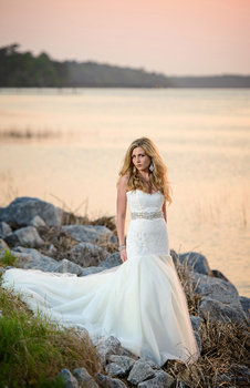 By the water bridal