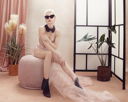 Pink room _ Masha_ 5 by Irina Jomir