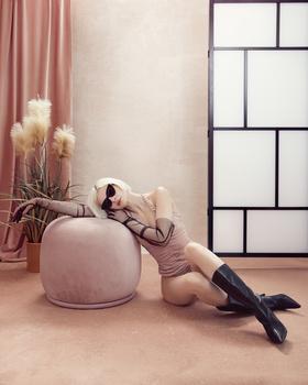 Pink room _Masha_2 by Irina Jomir