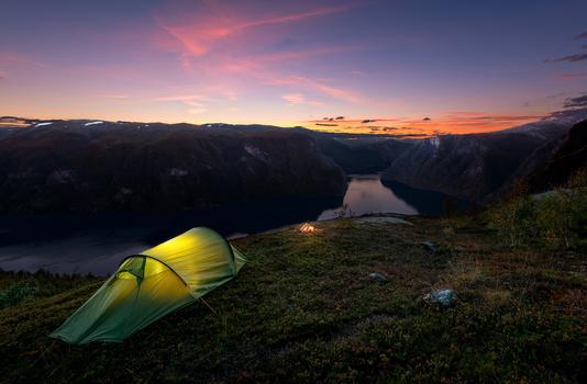 Backpacking in Norway