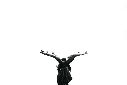 Angel at Central Park
