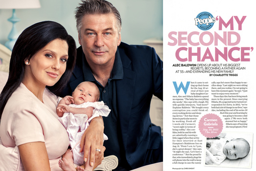 Cover Story for People Magazine