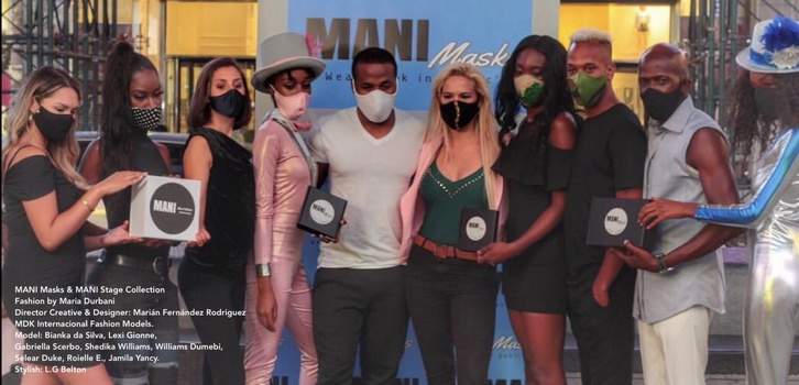 MANI Masks & MANI Stage Collection by Mariam Fernandez Rodriguez
