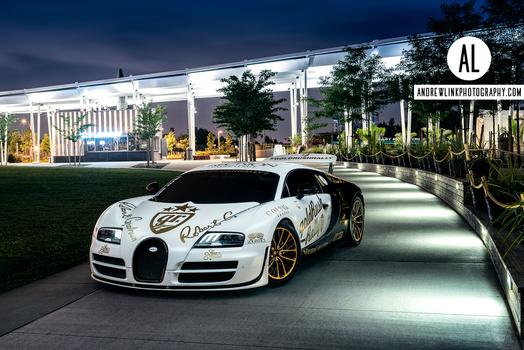 Bugatti Veyron in NYC