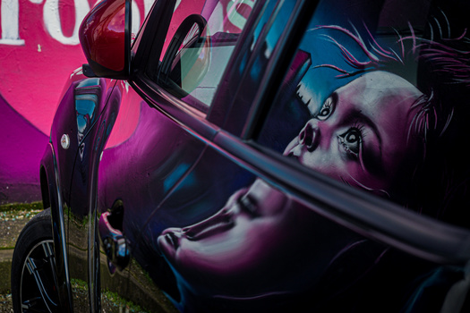 Art Reflection by Colin Mill