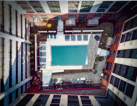 Overhead Aerial by Michael Einreinhof