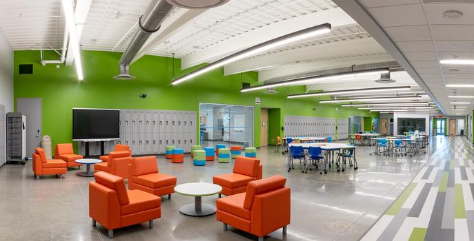 School Interior by Michael Einreinhof