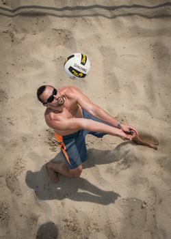 Overhead Volleyball by Michael Einreinhof