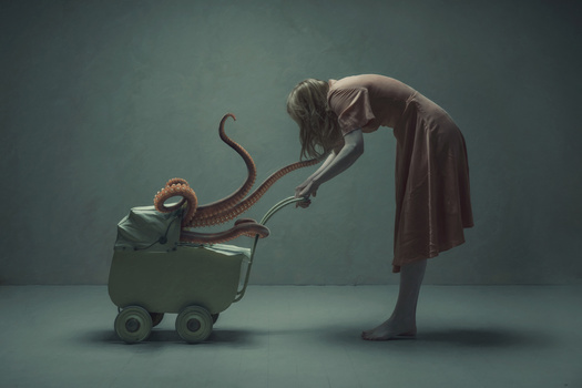 sweet baby squid by Roger Johansen
