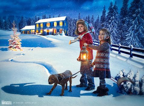 Wyatt & Madison Holiday Card 2014