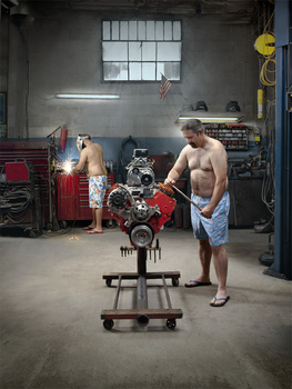 Speedo-clad Mechanics 2