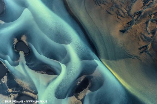 Glacial rivers