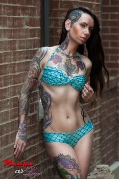 Stevi mermaid swimsuit