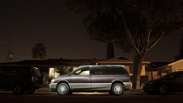 The Dodge Caravan.