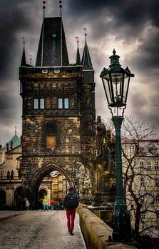Old town Prague, Charles Bridge