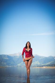 Eliska in the Lake