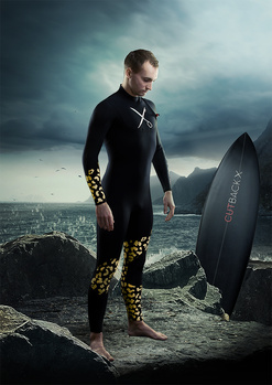 Taking the plunge with Cutback wetsuits.