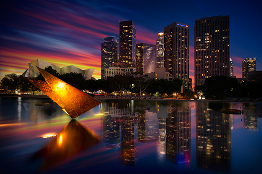 Downtown Los Angeles by Jesse Peraza