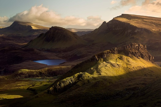 The Quiraing by Anthony Robin