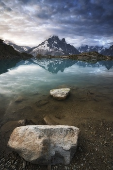 Lac Blanc in the Morning