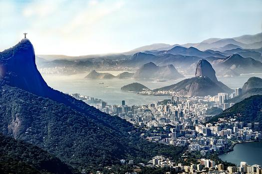 Corcovado and Sugar Loaf mountains, Rio de Janeiro