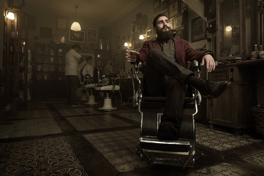 Barber Fabian from 'Schorem, haarsnijder & barbier'
