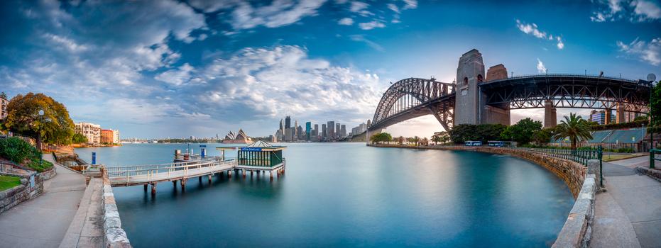 Jeffery St Wharf, Kirribilli, Sydney, Australia by Craig Jeffries