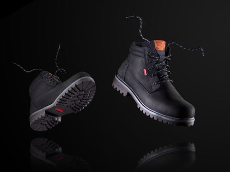 "In the ""Air"" Levis trekking boots."