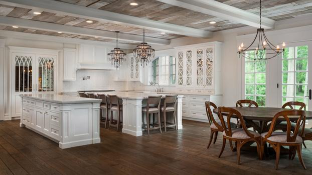 Kitchen of a 9 million dollar home