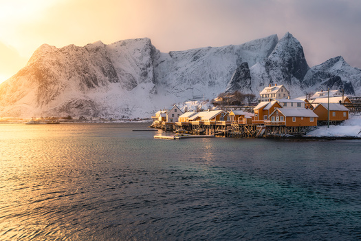 Winter Light by Mikkel Beiter